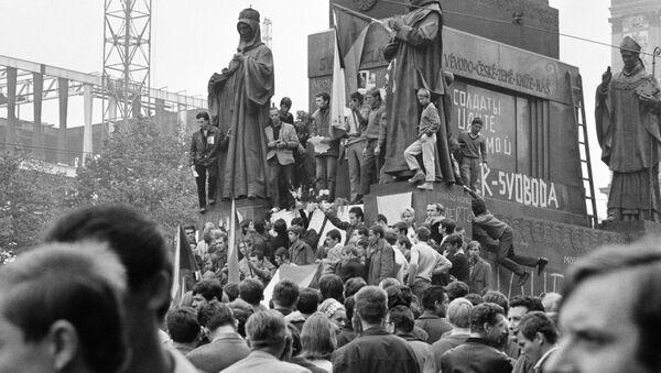 Praska Wiosna, 1968 rok - Sputnik Polska