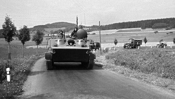Radzieckie wojska w Pradze, 1968 - Sputnik Polska