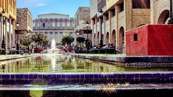 Widok na plac w mieście Guadalajara, Meksyk - Sputnik Polska