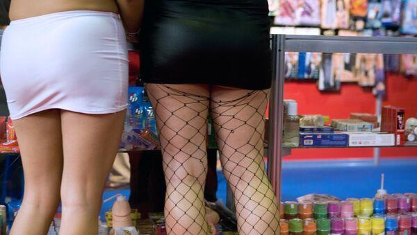 Kobiety w sex shopie - Sputnik Polska