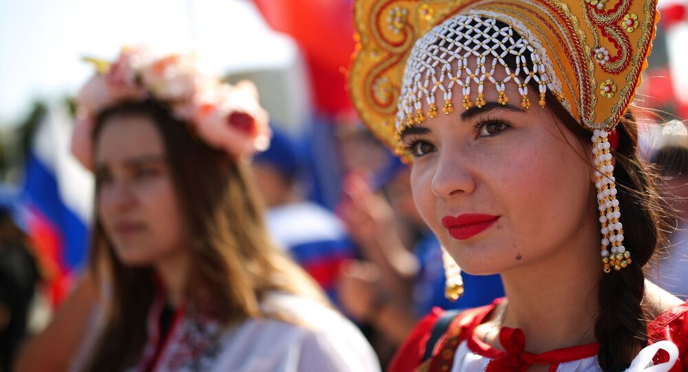 W Krasnodarze świętują Dzień Flagi Państwowej w Rosji