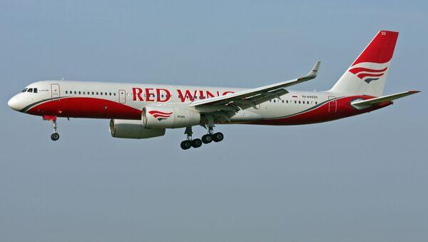 Samolot Tu-204 linii lotniczej Red Wings. Zdjęcie archiwalne - Sputnik Polska