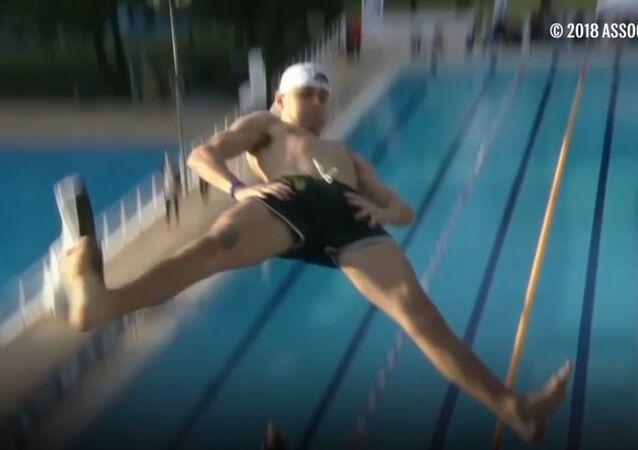 Zawody w skokach do wody na brzuch