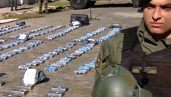 Argentyna: prawie pół tony kokainy z rosyjskiej ambasady poszło z dymem - Sputnik Polska