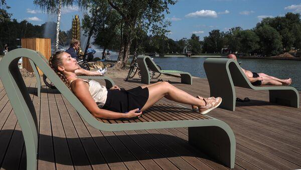 Letni odpoczynek w Moskwie - Sputnik Polska