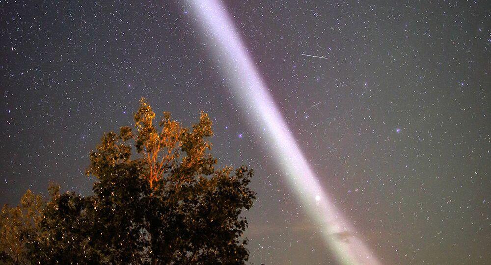 Zjawisko atmosferyczne Steve w Kanadzie