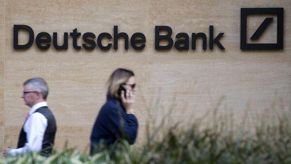 Siedziba oddziału Deutsche Bank w Londynie - Sputnik Polska