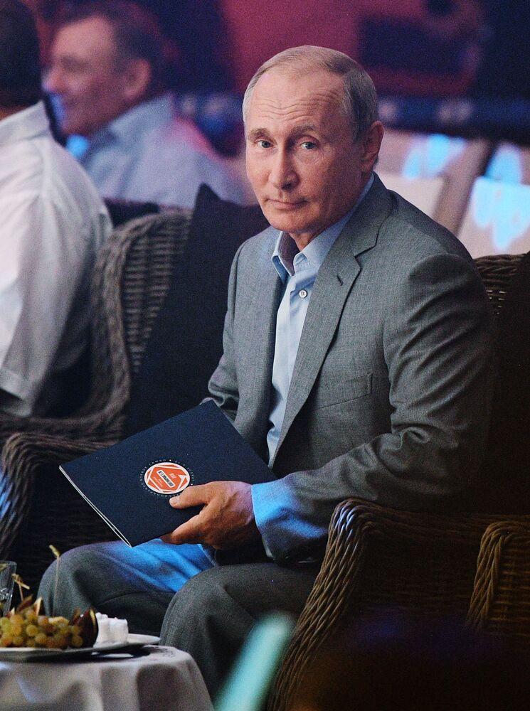 Władimir Putin na międzynarodowym turnieju sambo