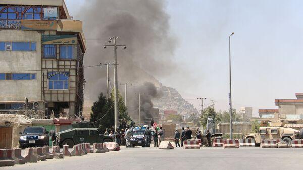 Atak na Pałac Prezydencki w Kabulu, Afganistan - Sputnik Polska