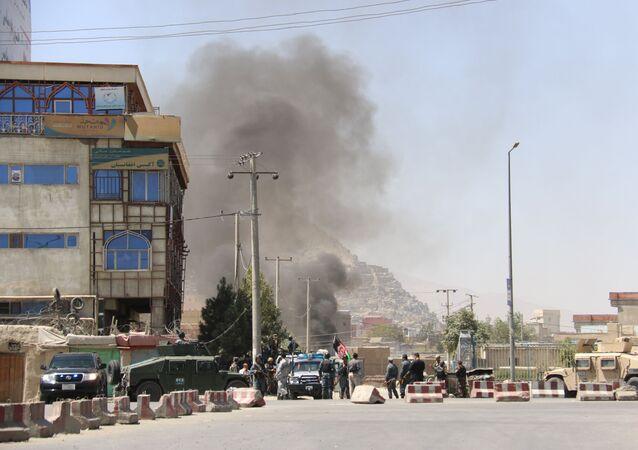 Atak na Pałac Prezydencki w Kabulu, Afganistan