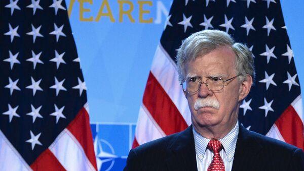 Doradca prezydenta USA do spraw bezpieczeństwa narodowego John Bolton - Sputnik Polska