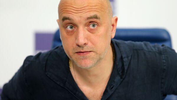 Писатель Захар Прилепин - Sputnik Polska