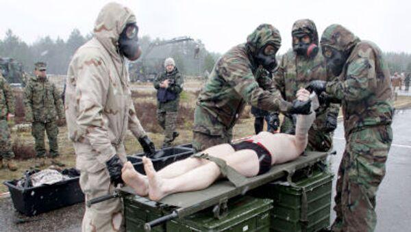 Szkolenia NATO na Łotwie - Sputnik Polska