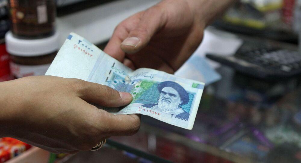Ayatollah Ruhollah Khomeini na irańskim banknocie
