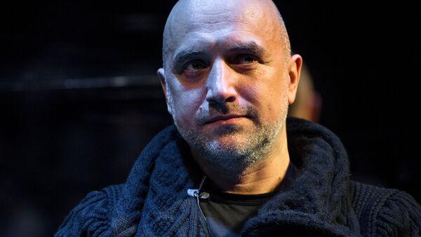 Rosyjski pisarz Zachar Prilepin - Sputnik Polska
