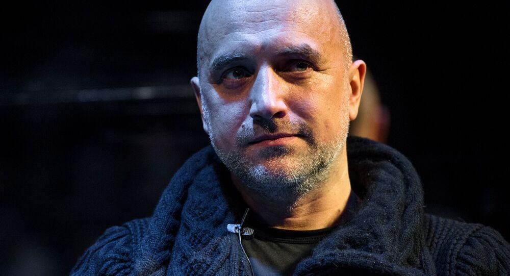 Rosyjski pisarz Zachar Prilepin