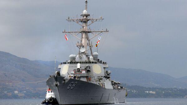 Amerykański niszczyciel USS The Sullivans - Sputnik Polska