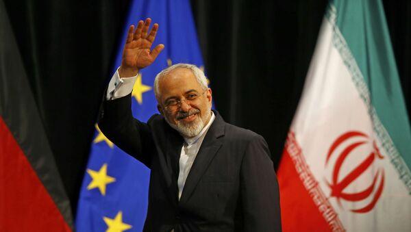 Minister spraw zagranicznych Iranu Mohammad Javad Zarif - Sputnik Polska