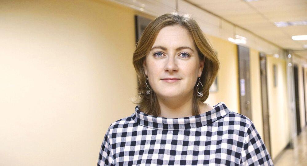 Ariadna Rokosowska, dziennikarka Rosyjskiej Gazety, Moskwa