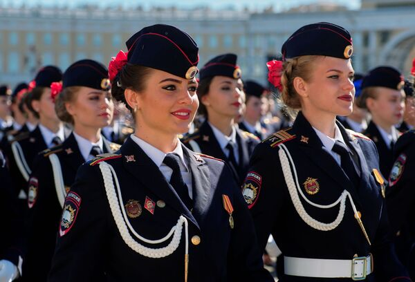 Rosjanki w armii, Petersburg - Sputnik Polska