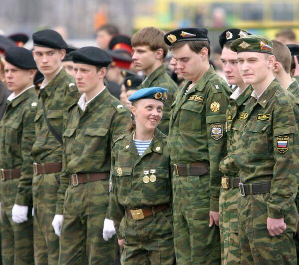 Rosjanki w armii - Sputnik Polska