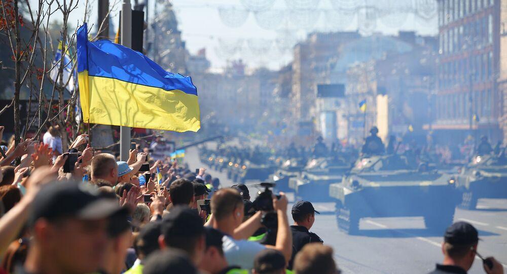 Parada wojskowa w Kijowie