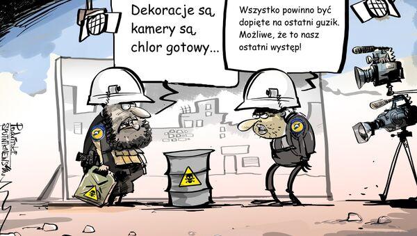 W Syrii szykuje się prowokacja - Sputnik Polska