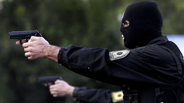 Irańscy policjanci - Sputnik Polska