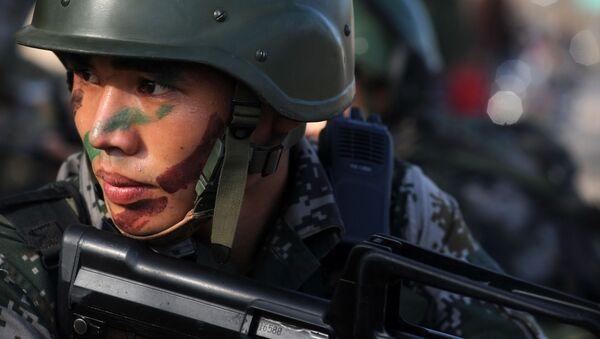 Chińscy żołnierze - Sputnik Polska
