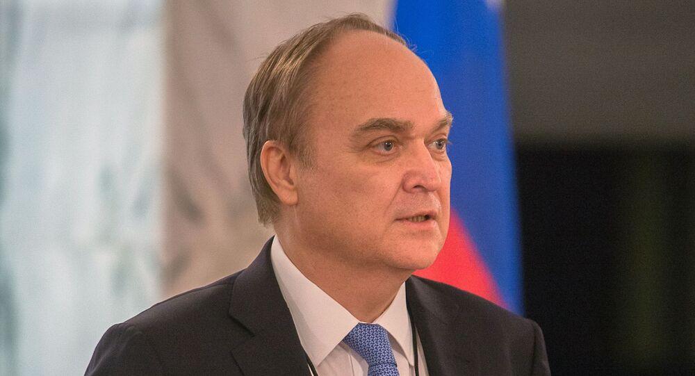 Ambasador Rosji w USA Anatolij Antonow