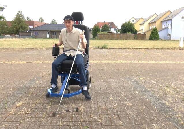 Niemiec wynalazł elektromobil dla niewidomych