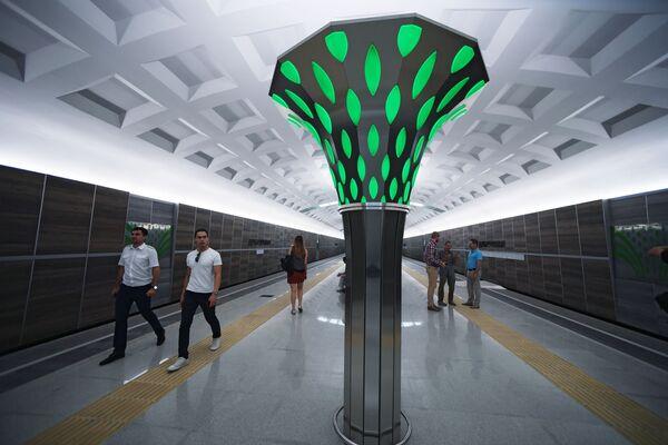 Otwarcie stacji Dubrawnaja w Kazaniu - Sputnik Polska