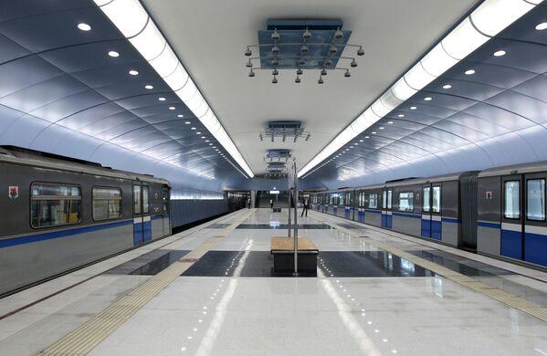 Stacja metra  w Kazaniu - Sputnik Polska