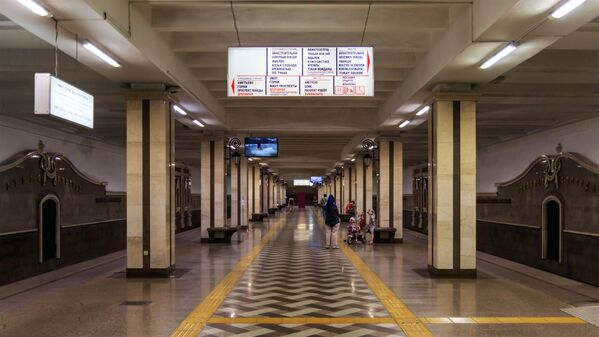 Stacja metra Sukonnaja Sloboda w Kazaniu - Sputnik Polska