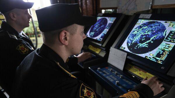 Załoga krążownika rakietowego Marszałek Ustinow - Sputnik Polska