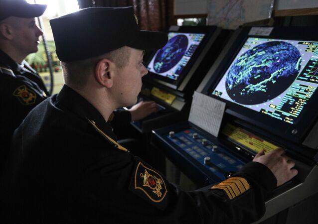 Załoga krążownika rakietowego Marszałek Ustinow