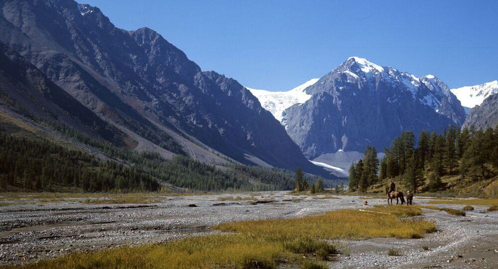 Dolina rzeki Aktru na Ałtaju