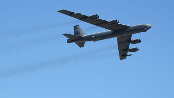 Strategiczny amerykański myśliwiec B-52 - Sputnik Polska