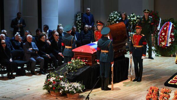 Pogrzeb Josifa Kobzona - Sputnik Polska