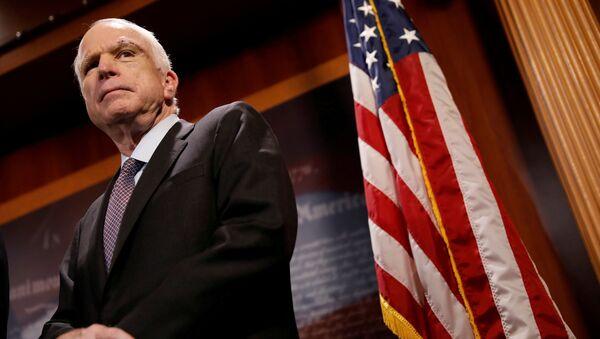 Senator John McCain, 2017 - Sputnik Polska