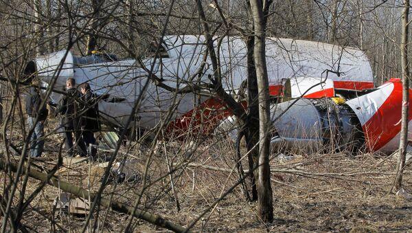 Szczątki prezydenckiego Tu-154 - Sputnik Polska
