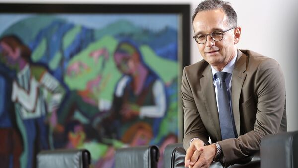 Minister spraw zagranicznych Niemiec Heiko Maas w Berlinie, Niemcy - Sputnik Polska