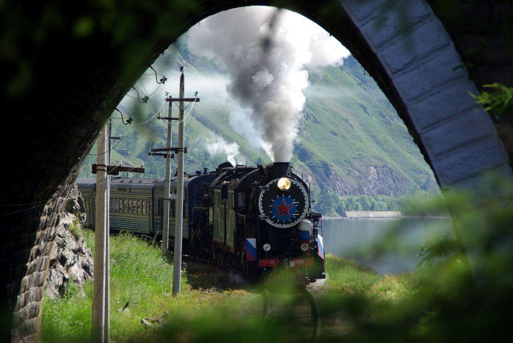 Niesamowity Bajkał.