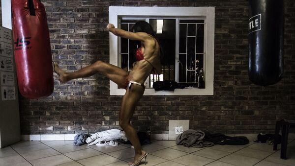Uczestniczka konkursu Miss SA Xtreme fitness i bodybuilding w RPA - Sputnik Polska