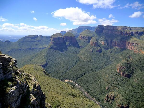 Kanion rzeki Blyde, RPA - Sputnik Polska