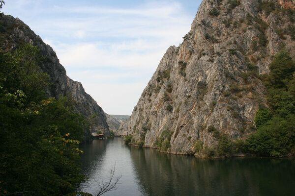 Kanion Matka w Macedonii - Sputnik Polska
