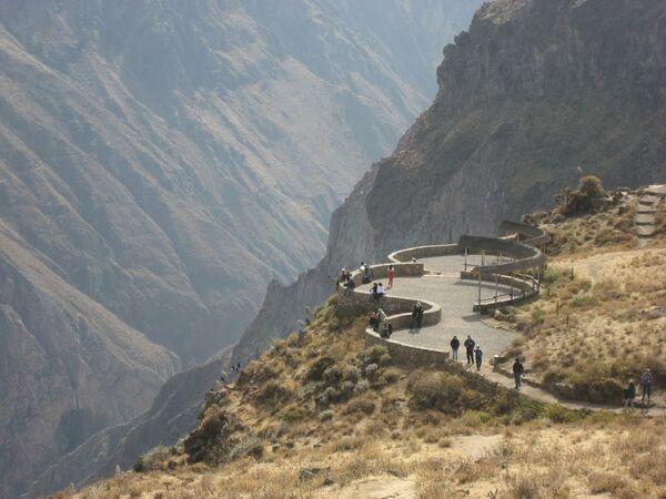 Kanion Colca w Peru. Punkt widokowy w Cruz del Condor - Sputnik Polska