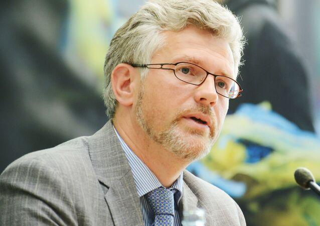 Ambasador Ukrainy w Niemczech Andrij Mielnik