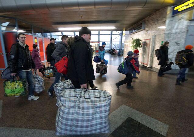 Ukraińscy uchodźcy