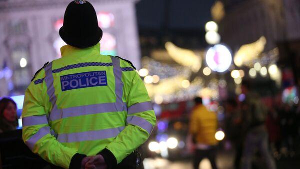 Brytyjski policjant. Zdjęcie archiwalne - Sputnik Polska